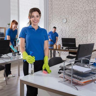 Komplettreinigung für Büro und Praxis